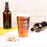 Personalised Pint Glass - Shot Glass - Shot Glass Gifts