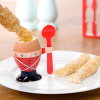 Soldier Egg Cup & Toast Cutter - Gadgets Gifts