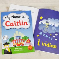 Personalised Children's Book - My Name Is... - Book Gifts