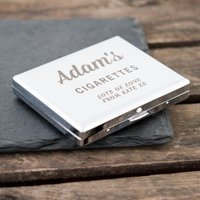 Engraved Cigarette Case - Your Cigarettes - Cigarette Gifts