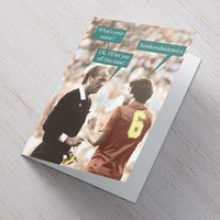 Quitting Hollywood Card - Football Surname - Football Gifts
