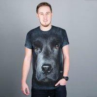 Big Face Black Labrador T-shirt - Labrador Gifts