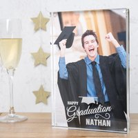 Personalised Acrylic Photo Keepsake - Graduation - Graduation Gifts