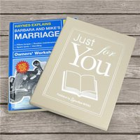 Personalised Book - Haynes Explains Marriage - Book Gifts