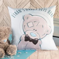 Personalised Me To You Cushion - You Sit Here - Me To You Gifts