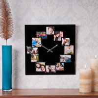 Home Time - Square Photo Wall Clock - Home Gifts