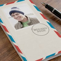 Photo Upload Address Book - Airmail - Book Gifts