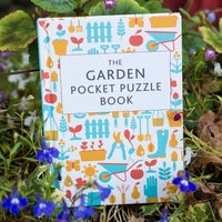 The Garden Pocket Puzzle Book - Puzzle Gifts