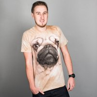 Image of Big Face Pug T-Shirt