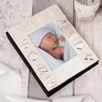 Engraved Baby Photo Album