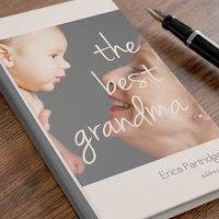 Photo Upload Address Book - The Best Grandma - Book Gifts