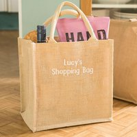 Personalised Canvas Shopping Bag - Shopping Gifts