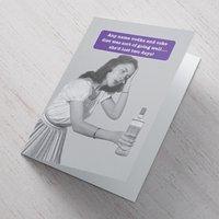 Personalised Card - Vodka Diet - Vodka Gifts
