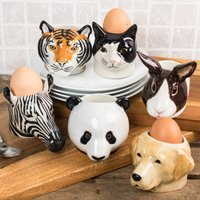 Animal Face Egg Cups (Set Of Two) - Cups Gifts