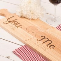 Personalised Jigsaw Placemats - You and Me - Jigsaw Gifts