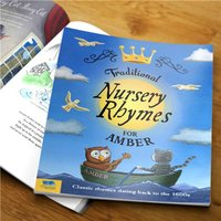 Personalised Children's Book - Traditional Nursery Rhymes - Nursery Gifts