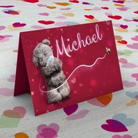 Personalised Me to You Card - Buzzy Bee - Bee Gifts
