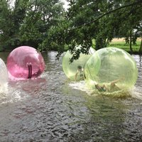 Winter Water Zorbing Experience for Four - Zorbing Gifts