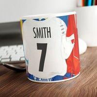 Personalised Football Mug - Shirts - Football Gifts