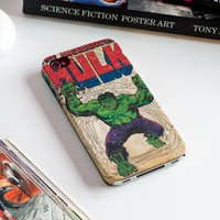 The Incredible Hulk Phone Case - iPhone 4 - Iphone 4 Gifts