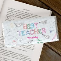 Personalised Chocolate Bar - Best Teacher - Teacher Gifts