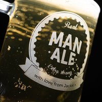 Engraved Pint Tankard - Real Man Ale - Ale Gifts