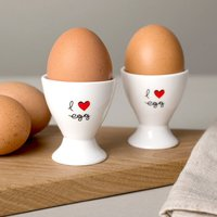 I Love Egg - Egg Cups - Cups Gifts