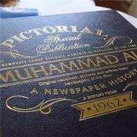 Personalised Newspaper Book - Muhammad Ali - Book Gifts