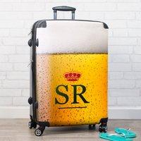 Personalised Suitcase - Beer