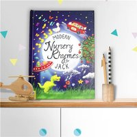 Personalised Children's Book - Modern Nursery Rhymes - Nursery Gifts