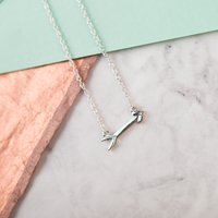 Lucky Feather Best Day Ever Necklace - Bridesmaid - Bridesmaid Gifts