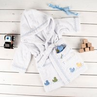 Personalised Baby's Dressing Gown for Boys - Dressing Gown Gifts