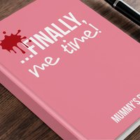 Personalised Diary  - Me Time - Diary Gifts