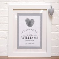 Personalised Print - Live Laugh Love - Laugh Gifts