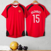 Personalised Adults Official Football Top - Football Gifts
