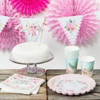 Image of Floral Fancy Birthday Party Celebration Collection