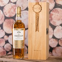 Personalised Macallan Whisky Gift Box - No.1 Husband - Husband Gifts