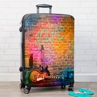 Personalised Suitcase - Guitars - Guitars Gifts