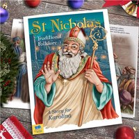 Personalised Children's Book - St Nicholas Traditional Folklore - Book Gifts