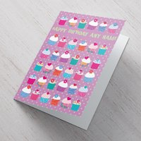 Personalised Card - Birthday Cupcakes - Cupcakes Gifts