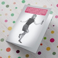 Personalised Card - All Woman - Woman Gifts