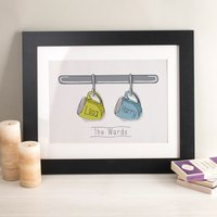 Personalised Our Cups Print - Cups Gifts