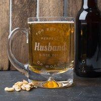 Engraved Tankard - Perfect Husband - Husband Gifts