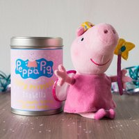 Personalised Peppa Pig Tin - Fairy Princess