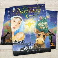 Personalised Children's Book - The Little Donkey & The Nativity Story - Donkey Gifts
