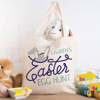 Personalised Tote Bag - Easter Egg Hunt