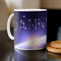 Personalised Mug - Stars in Space - Space Gifts