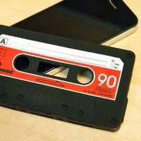 Retro Cassette Cover - iPhone 4 - Iphone 4 Gifts