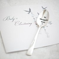 Personalised Baby Vintage Spoon