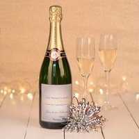 Luxury Personalised Champagne - The Worlds Most Handsome Husband